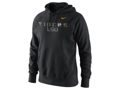 LSU Tigers Nike NCAA Men's Project Fresh Camo Logo Hoodie