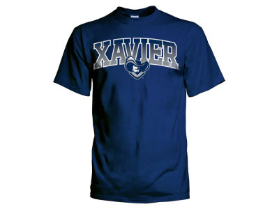 Xavier Musketeers NCAA Men's Gradient Arch T-Shirt