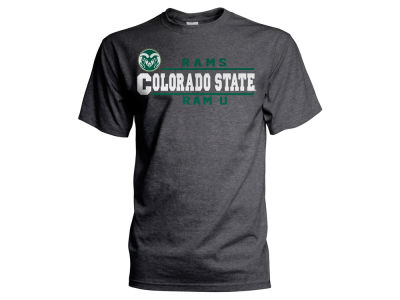 Colorado State Rams NCAA Men's Verbiage Stack T-Shirt