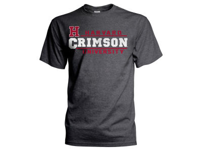 Harvard Crimson NCAA 2 for $25 NCAA Men's Verbiage Stack T-Shirt