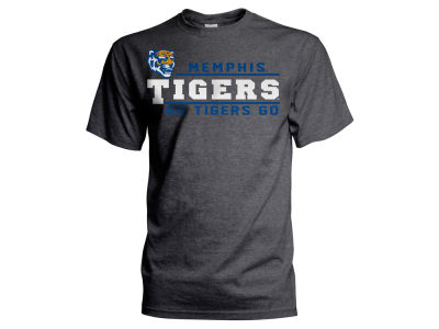 Memphis Tigers NCAA Men's Verbiage Stack T-Shirt