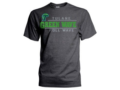 Tulane Green Wave J America NCAA Men's Verbiage Stack T-Shirt
