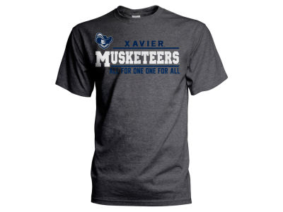 Xavier Musketeers NCAA Men's Verbiage Stack T-Shirt
