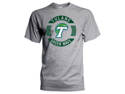 Tulane Green Wave J America NCAA Men's Circle Logo T-Shirt