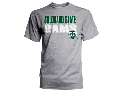 Colorado State Rams NCAA Men's Wordmark Stack T-Shirt