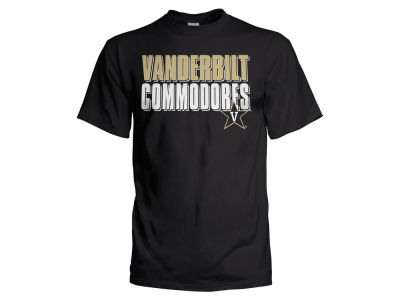 Vanderbilt Commodores NCAA Men's Wordmark Stack T-Shirt