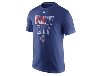 Chicago Cubs MLB Men's 2016 Playoff Hunt Local T-Shirt