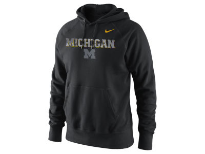 Michigan Wolverines Nike NCAA Men's Project Fresh Camo Logo Hoodie
