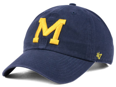 promo code b3bd6 3a4de ... 50% off michigan wolverines 47 ncaa 47 clean up cap fbf31 30fe9