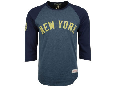 New York Yankees Mitchell and Ness MLB Men's Dynasty Raglan T-Shirt