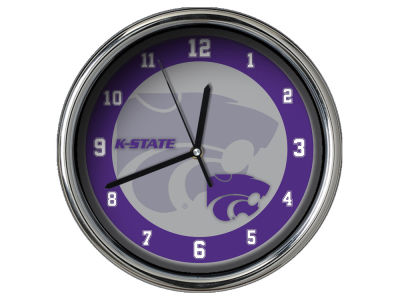 Kansas State Wildcats AC DC Chrome Clock II
