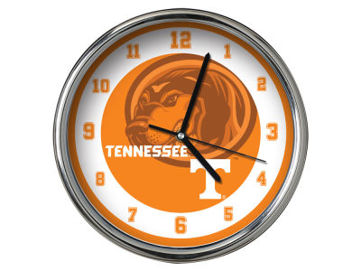 Tennessee Volunteers AC DC Chrome Clock II