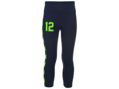 Seattle Seahawks NFL Girls Toddler 12th Man Yoga Pants