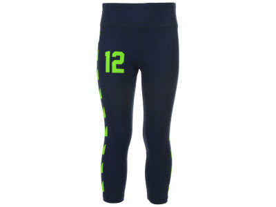 Seattle Seahawks NFL Girls Youth 12th Man Yoga Pants