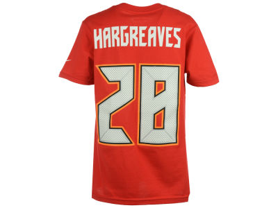 Tampa Bay Buccaneers Vernon Hargreaves, III Nike NFL Youth Pride Name and Number T-Shirt