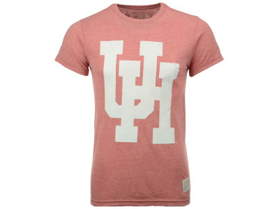 Houston Cougars Retro Brand NCAA Men's Retro Mock Twist Team Logo T-Shirt