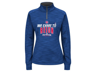 Chicago Cubs Majestic MLB Women's 2016 AC Post Season Streak Hoodie