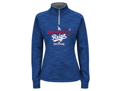 Los Angeles Dodgers Majestic MLB Women's 2016 AC Post Season Streak Hoodie