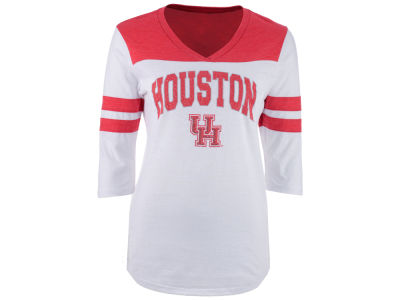 Houston Cougars NCAA Women's Arch Twill T-Shirt