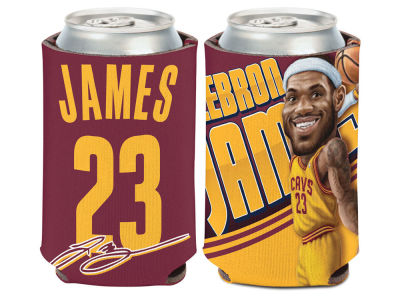Cleveland Cavaliers Lebron James Caricature Coozie