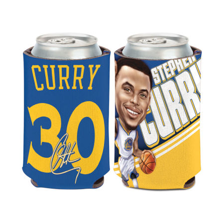 Golden State Warriors Stephen Curry Caricature Coozie