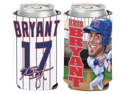 Chicago Cubs Kris Bryant Caricature Coozie