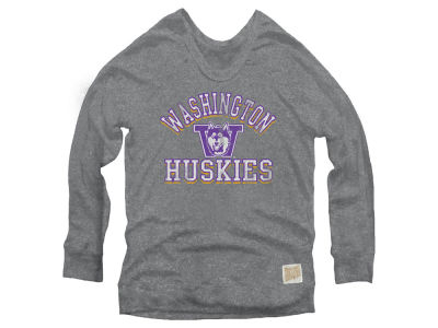 Washington Huskies Retro Brand NCAA Women's Quad Sweatshirt