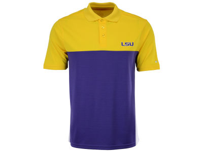 LSU Tigers Colosseum NCAA Men's In The Vault Polo