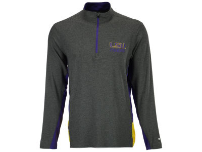 LSU Tigers Colosseum NCAA Men's Executive Windshirt 1/4 Zip Pullover