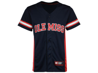 Ole Miss Rebels Colosseum NCAA Men's Strike Zone Baseball Jersey