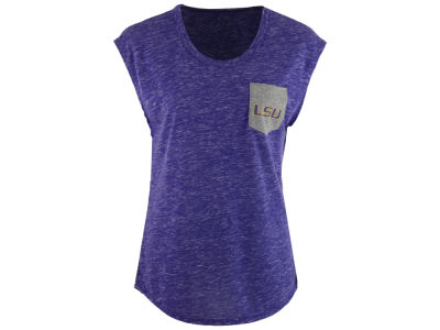 LSU Tigers Colosseum NCAA Women's Moo Point Pocket T-Shirt