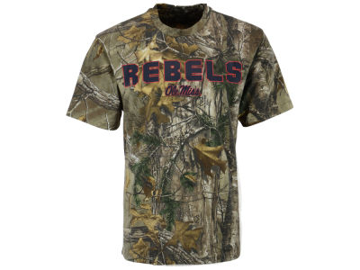 Ole Miss Rebels Colosseum NCAA Men's Realtree Cover Trail T-Shirt