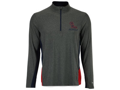 Ole Miss Rebels Colosseum NCAA Men's Executive Windshirt 1/4 Zip Pullover