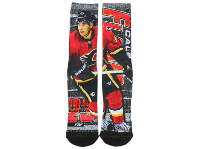 Calgary Flames Sean Monahan Player Mesh Crew Sock