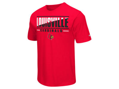 Louisville Cardinals Colosseum NCAA Men's Two Face T-Shirt