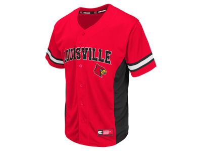Louisville Cardinals Colosseum NCAA Men's Strike Zone Baseball Jersey