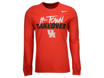 Houston Cougars Nike NCAA Men's Takeover Long Sleeve T-Shirt