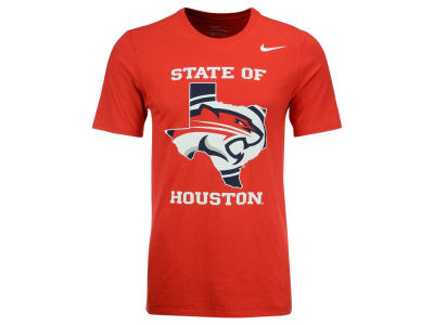 Houston Cougars Nike NCAA Men's State of Logo T-Shirt
