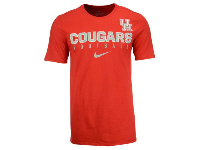 Houston Cougars Nike NCAA Mens Cotton Practice T-Shirt