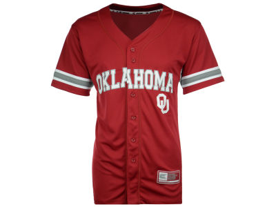 Oklahoma Sooners Colosseum NCAA Men's Strike Zone Baseball Jersey