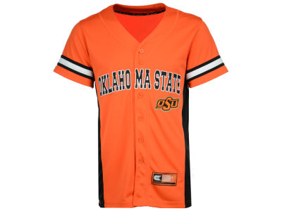 Oklahoma State Cowboys Colosseum NCAA Men's Strike Zone Baseball Jersey