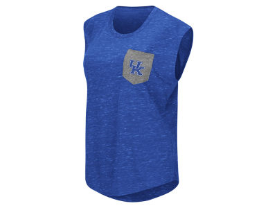 Kentucky Wildcats Colosseum NCAA Women's Moo Point Pocket T-Shirt