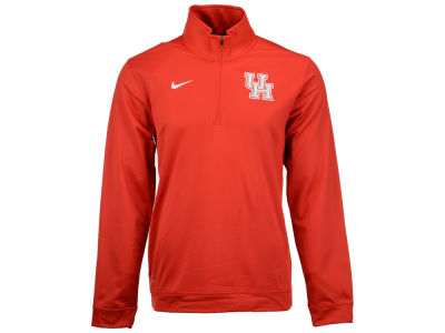 Houston Cougars Nike NCAA Men's Dri-Fit Performance Quarter Zip Pullover