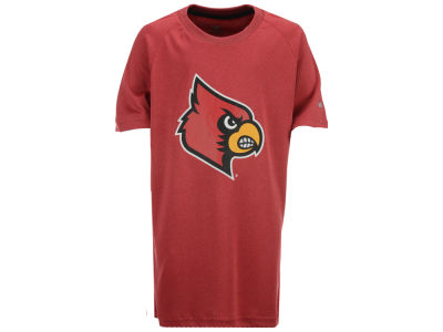 Louisville Cardinals Colosseum NCAA Youth Kramer Raglan T-Shirt