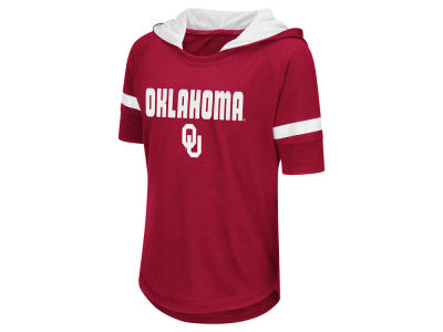 Oklahoma Sooners Colosseum NCAA Youth Girls Umbrella Hooded T-Shirt