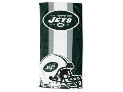 "New York Jets AC DC 30x60 Beach Towel ""Zone Read"""