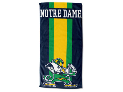 "Notre Dame Fighting Irish AC DC 30x60 Beach Towel ""Zone Read"""