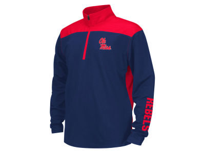 Ole Miss Rebels Colosseum NCAA Youth In The Vault Windshirt 1/4 Zip