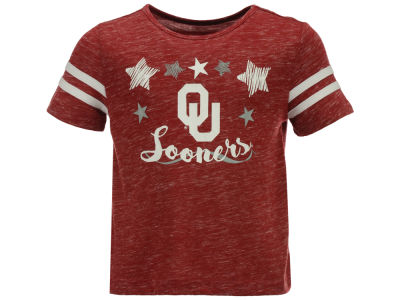 Oklahoma Sooners Colosseum NCAA Toddler Girls Janice T-Shirt