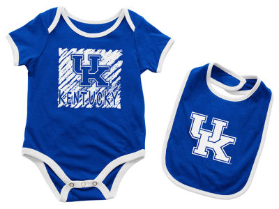 Kentucky Wildcats Colosseum NCAA Infant Look at the Baby Onesie Set
